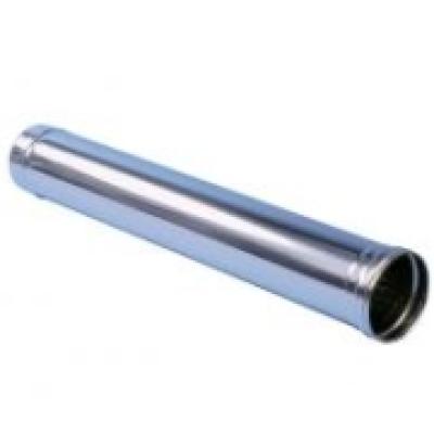 Труба из нержавеющей стали для отвода продуктов сгорания длиной 1 м