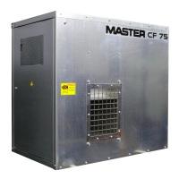 Газовый нагреватель воздуха MASTER CF 75 SPARK подвесное иполнение